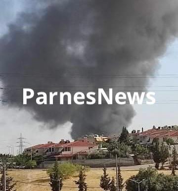 Υπό έλεγχο η φωτιά στα σύνορα Αχαρναί - Ζεφύρι
