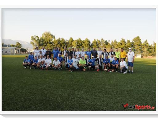 Ξεχωριστό τουρνουά ποδοσφαίρου από εργαζόμενους της «πρώτης γραμμής»