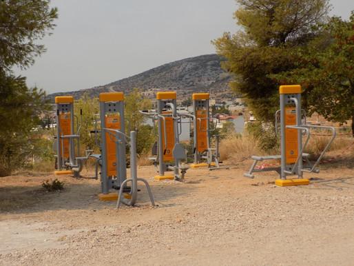 Δ.Φύλης: Δημιούργησε το πρώτο πάρκο άθλησης μέσα στη φύση