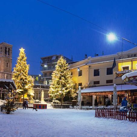 Καρπενήσι: Χριστούγεννα στον λατρεμένο προορισμό