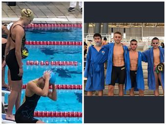 Με σειρά επιτυχιών συνεχίζει ο Άλμπατρος Άνω Λιοσίων στην κολύμβηση!