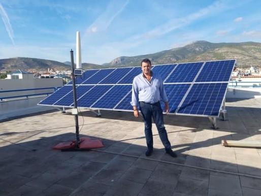 Συνδέθηκαν με το δίκτυο του ΔΕΔΔΗΕ 4 φωτοβολταϊκά συστήματα του Δήμου –Τεράστια η εξοικονόμηση πόρων