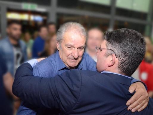 Βαρύ πένθος για τον Δήμαρχο Σπύρο Βρεττό-Έφυγε από την ζωή ο πατέρας του Γιάννης