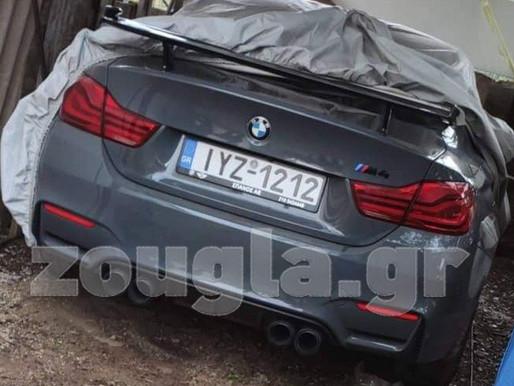 Στα Άνω Λιόσια βρέθηκε η κλεμμένη συλλεκτική BMW M4 του οδηγού Κεχαγιά