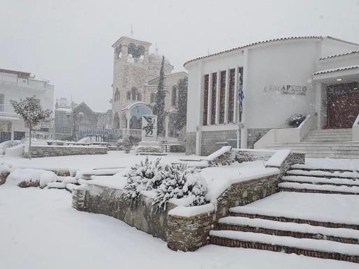 Μαγευτικές εικόνες απ'την χιονισμένη Φυλή και τον φακό του Γιάννη Λιάκου