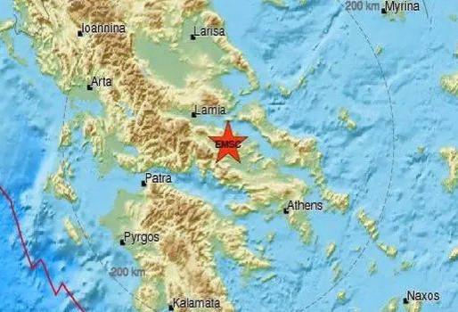 Σεισμός ΤΩΡΑ: Επίκεντρο η Αταλάντη
