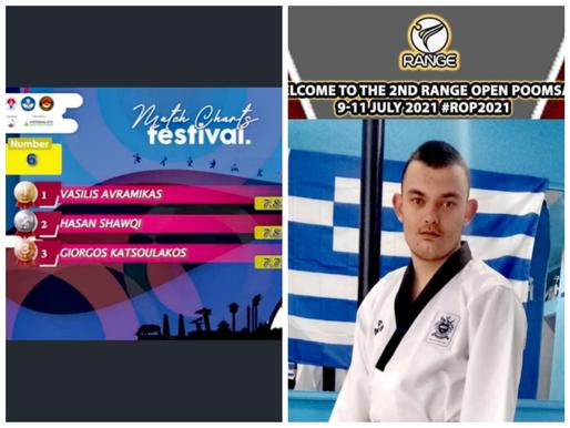 Ξανά ΧΡΥΣΟΣ για 7η φορά Παγκοσμίως ο Βασίλης Αβραμίκας στο ParaTaekwondo