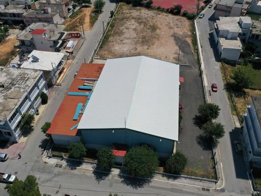 Στην αντικατάσταση της στέγης στο Γυμναστήριο «Σπάρτακος» προχώρησε ο Δήμος Φυλής