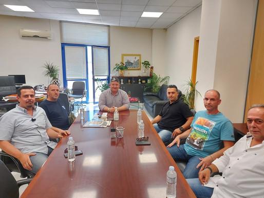 Συνάντηση Δημάρχου Αχαρνών με τον αθλητικό σύλλογο Aρτεμις