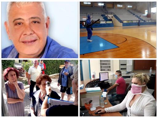 Επιστροφή στους Αθλητικούς χώρους του Δήμου Φυλής με όλα τα μέτρα Προστασίας