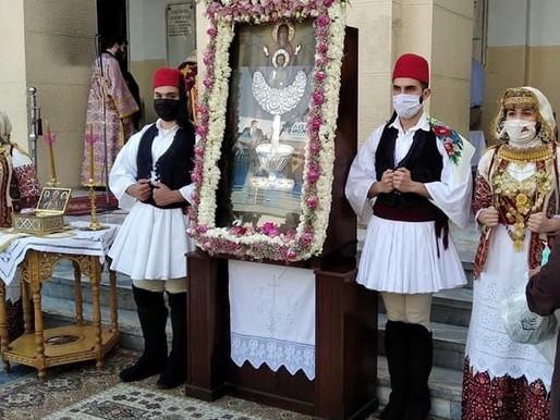 Θρησκευτική κατάνυξη στον εορτασμό της Ζωοδόχου Πηγής