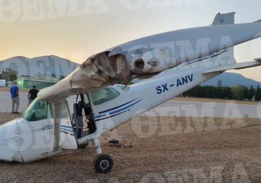 Παραλίγο τραγωδία στο Αεροδρόμιο Τατοΐου