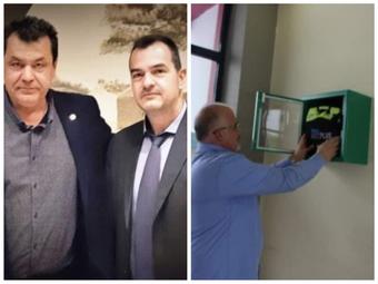 Πρωτοποριακός ο Δήμος Φυλής στην τοποθέτηση απινιδωτών σε Δημοτικά Κτίρια και αθλητικούς χώρους