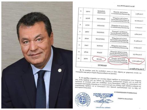 2 εκ.Ευρώ εξασφάλισε ο Δήμαρχος Φυλής για αποζημίωση ζημιών απ'το σεισμό του '19 σε σπίτια & μαγαζιά