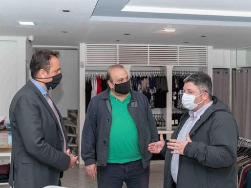 Στο πλευρό των επιχειρηματιών στις Αχαρνές το Επιμελητήριο Αθηνών και ο Δήμος Αχαρνών