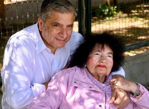 Έφυγε από την ζωή η μητέρα του Περιφερειάρχη Γιώργου Πατούλη - «Καλό ταξίδι ηρωίδα μάνα μου»