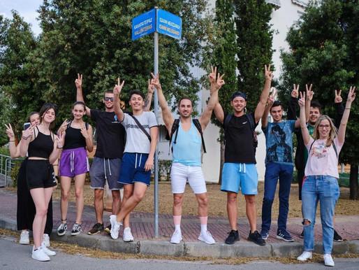 Ο Ολυμπιονίκης Ιωάννης Μελισσανίδης επισκέφτηκε το Ολυμπιακό Χωριό μετά από πρόσκληση της Νέας Γενιά