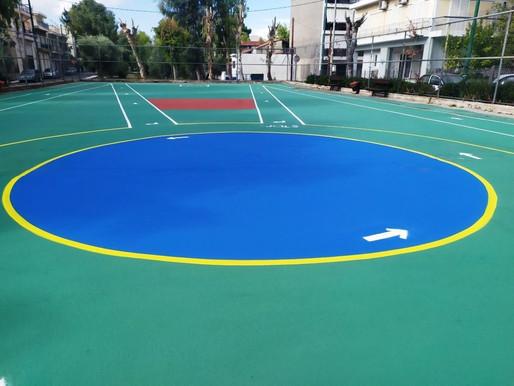 Νέο πάρκο άθλησης και ψυχαγωγίας κατασκεύασε ο Δήμος Φυλής