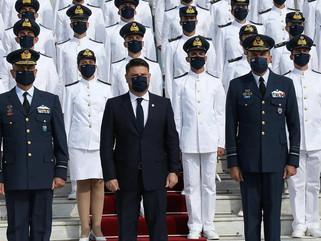 Ορκωμοσία 135 νέων Ικάρων στο Τατόι παρουσία του Υφυπουργού Άμυνας Ν. Χαρδαλιά