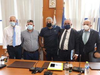 Επιμελητήριο και Περιφέρεια στο πλευρό επιχειρήσεων και πληγέντων του Δήμου Αχαρνών