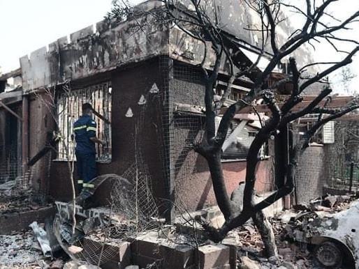 Ανακοίνωση του Δήμου Αχαρνών για τη διαδικασία καταγραφής ζημιών λόγω της πυρκαγιάς
