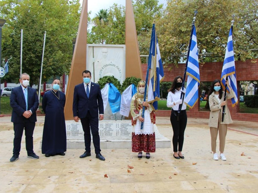 Με συγκινητικές τιμές στους Ήρωες του 40 ο εορτασμός της 28ης Οκτωβρίου στα Άνω Λιόσια