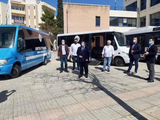 Αρχίζει τη Δευτέρα 8 Μαρτίου η λειτουργία της Δημοτικής Συγκοινωνίας του Δήμου Αχαρνών