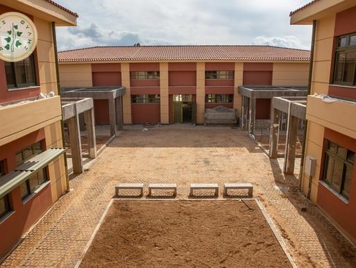 Έτοιμο το Πρότυπο Ειδικό Γυμνάσιο Άνω Λιοσίων!-Το νέο στολίδι επισκέφτηκε ο Περιφερειακός Διευθυντής
