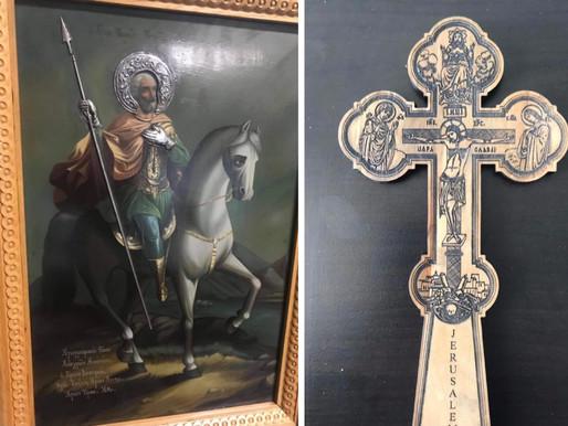 Βρέθηκε η θαυματουργή εικόνα του Αγίου Μηνά που είχε κλαπεί από το Μοναστήρι των Θρακομακεδόνων