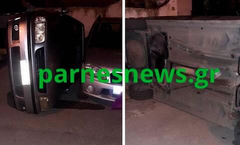 Επ'αυτοφώρω πιάστηκε ο 42χρονος που έκλεβε καταλύτες αυτοκινήτων από την Ασφάλεια Αχαρνών