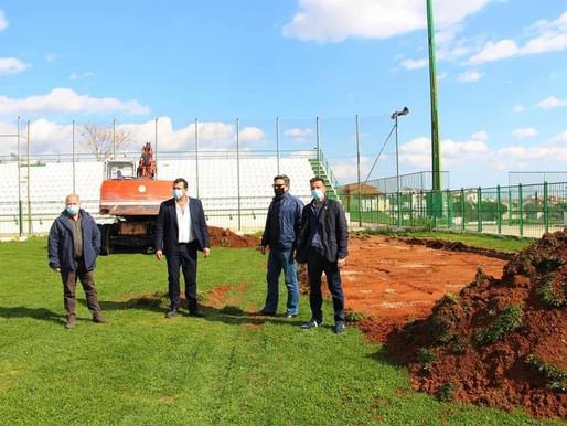 Ξεκίνησαν τα έργα αναβάθμισης του Δημοτικού Σταδίου «Ακράτητος»
