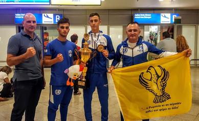 Χρυσό μετάλλιο κατέκτησε ο Αλέξανδρος Λαζαρίδης στο Πανευρωπαϊκό Πρωτάθλημα Kick Boxing