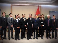 Visit at Vietnamese Government