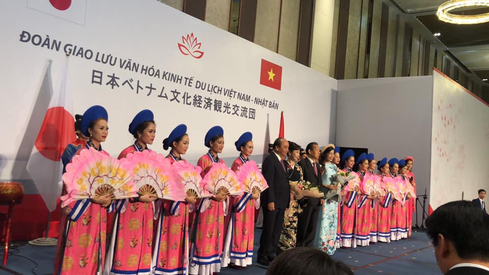 Vietnam & Japan Diplomatic Ceremony