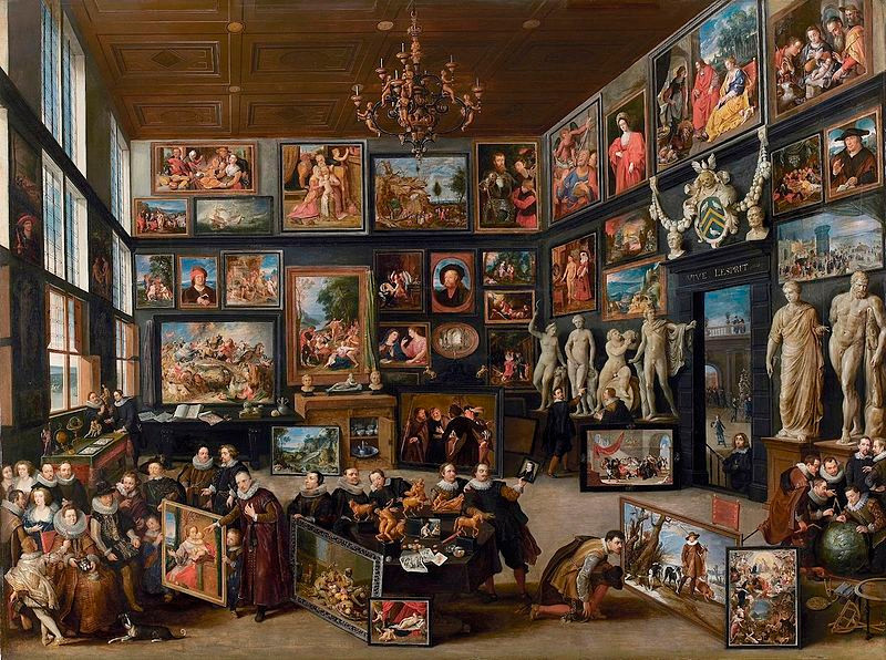 Willem van Haecht, Wikimedia Foundation