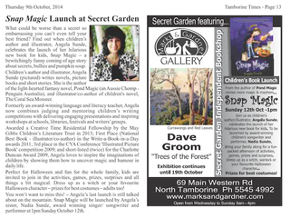 Featured in the Tamborine Times
