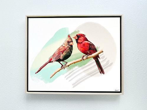 "My Feathery Love Framed 8x10"" Print"