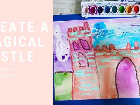 Magical Castles Art Lesson