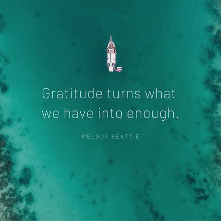 Fridays are for Gratitude!