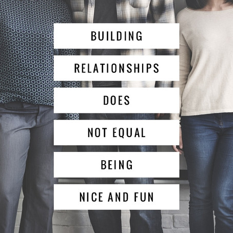 How to Really Build Relationships with Students