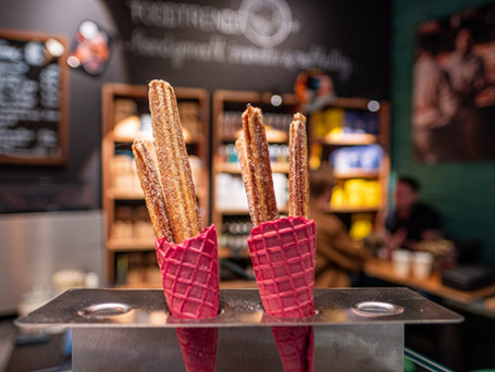 CappuCone im Europark. Siebträger Kaffee im Eisbecher. Seid's ihr deppert oder genial?