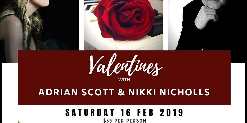 Valentines with Adrian Scott & Nikki Nicholls