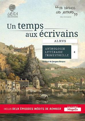 Un temps aux écrivains - ALHVS (ISBN : 978-2-38019-027-4)