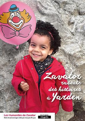 Zavator raconte des histoires à Yarden (ISBN : 978-2-38019-034-2)