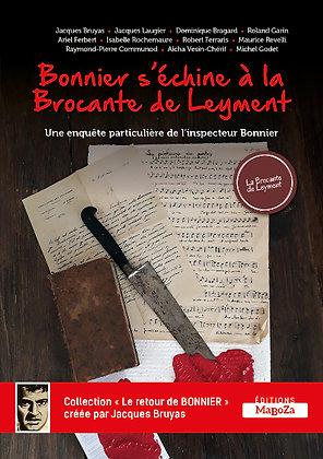 Bonnier s'échine à la Brocante de Leyment (ISBN : 978-2-38019-039-7)
