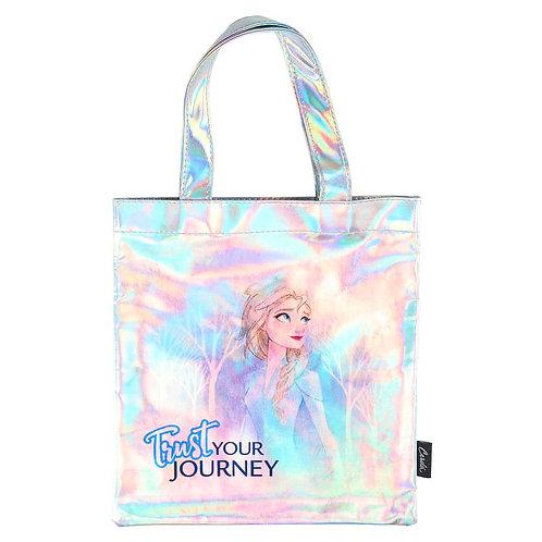 Bolso shopping iridiscente Frozen 2