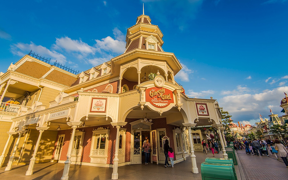 The Gibson Girl Ice Cream Parlour Disneyland Paris
