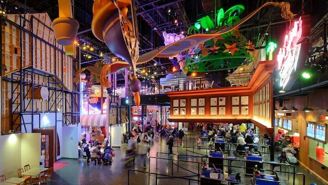 Restaurant en Coulisse en Walt Disney Studios