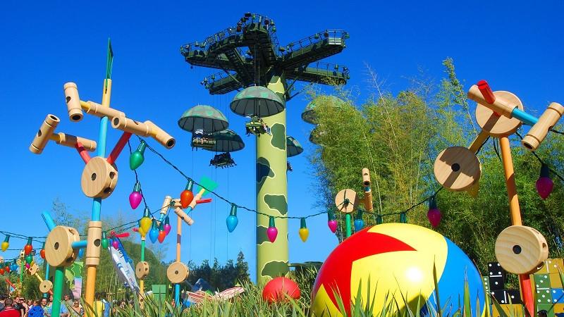 La magia de los jardines de Disneyland Paris