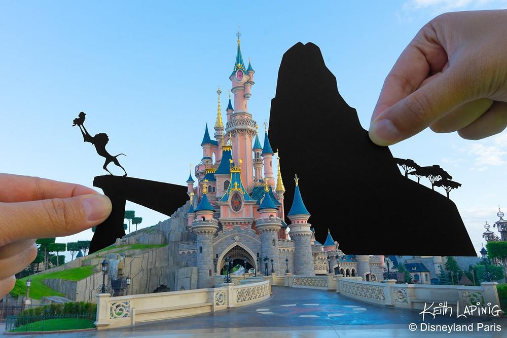 El arte de Keith Lapinig en Disneyland Paris